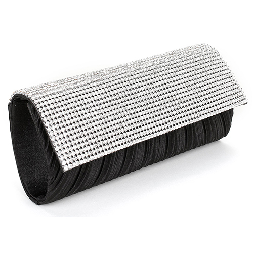 Black-With-Silver-Evening-Bag