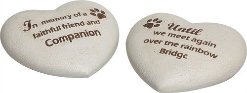 P8369 Cement Stepping Stone Pet