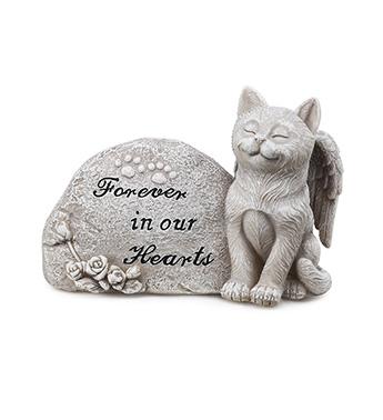 Memorial Plaque W Cat