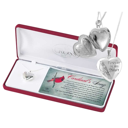 cardinal locket