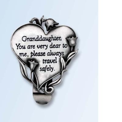 granddaughter visor clip