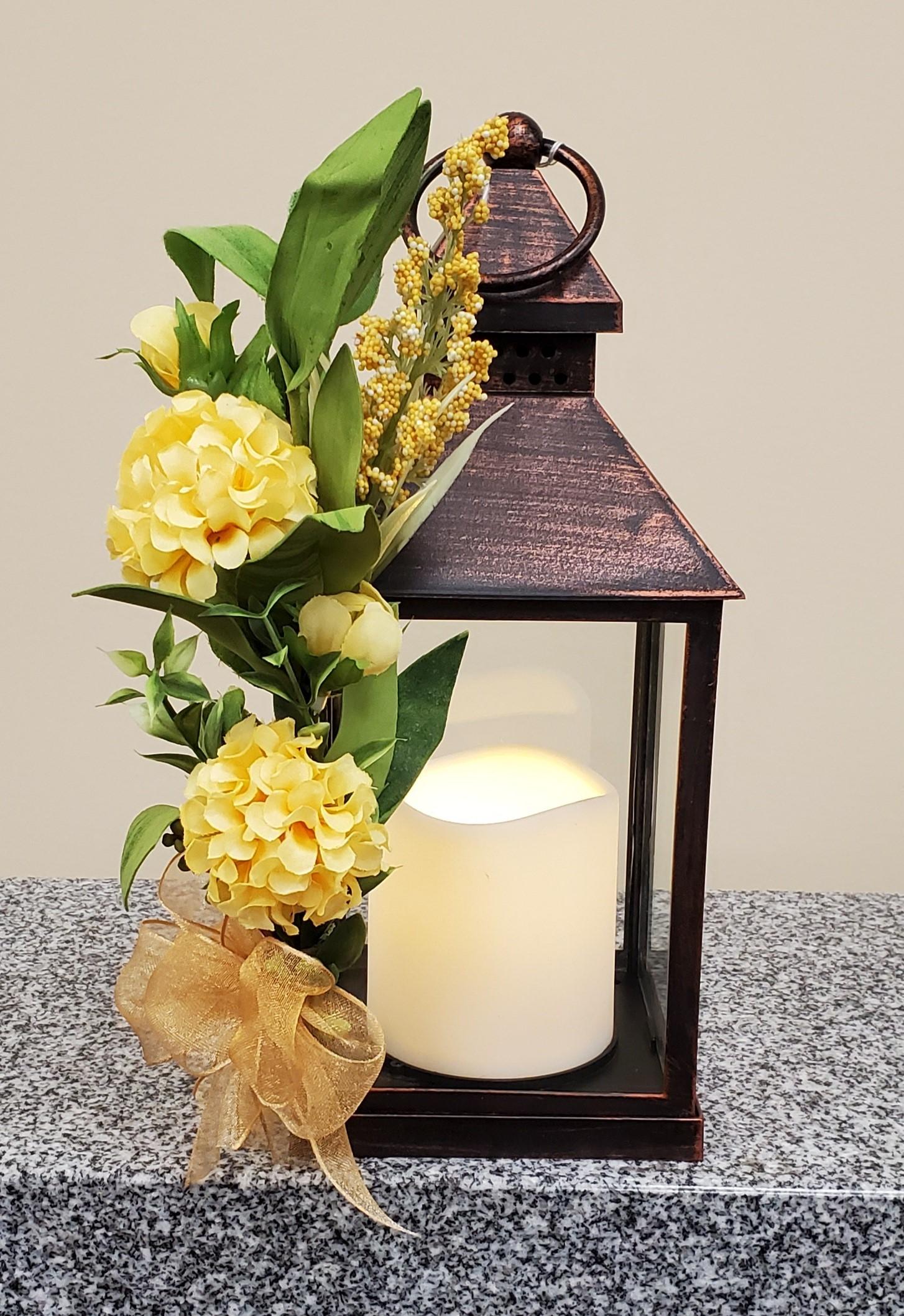 copper yellow lantern