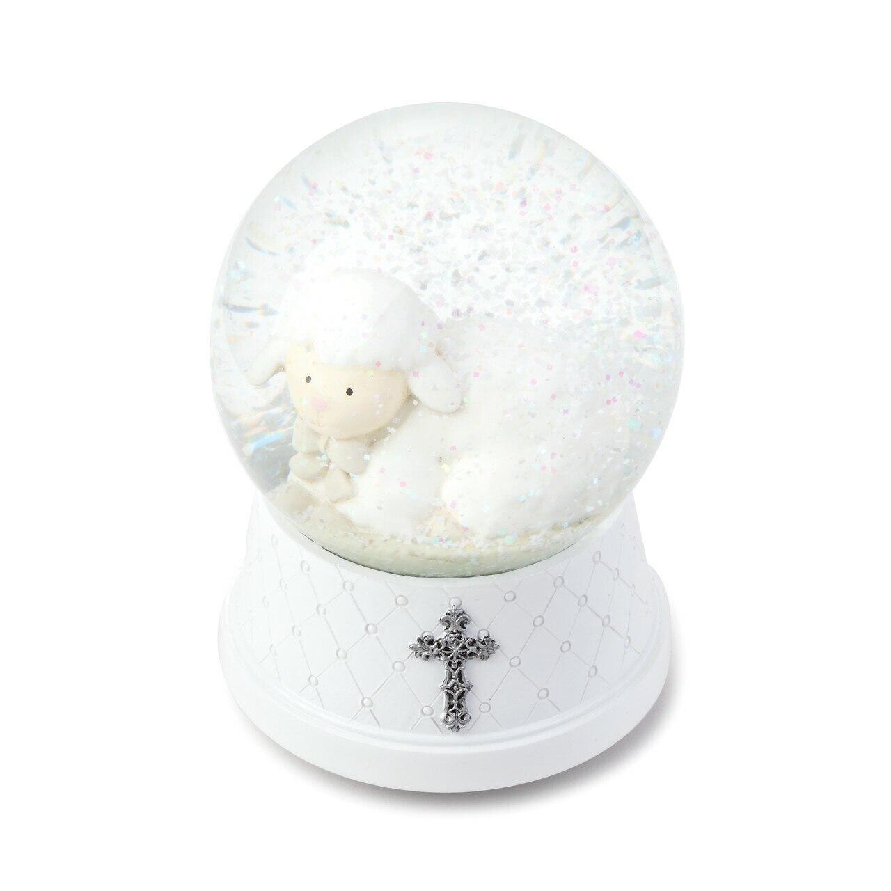 jesus loves me globe