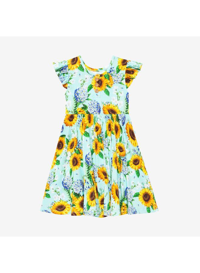 sunny twirl dress