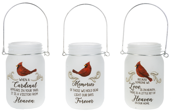 cardinal mason jars