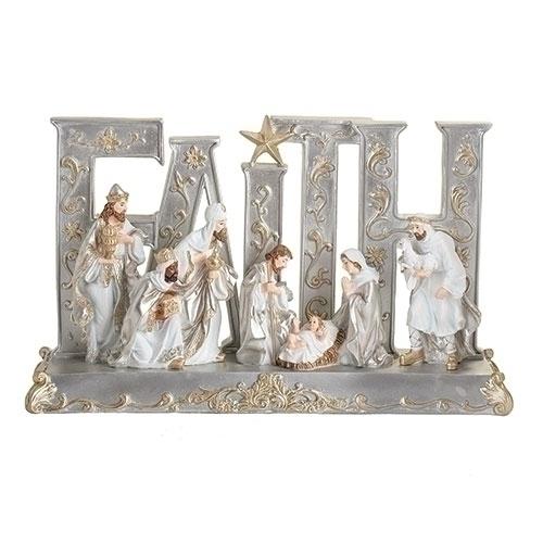 faith nativity scene
