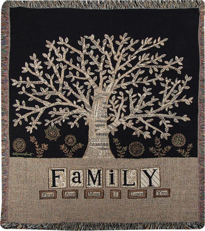 family throw