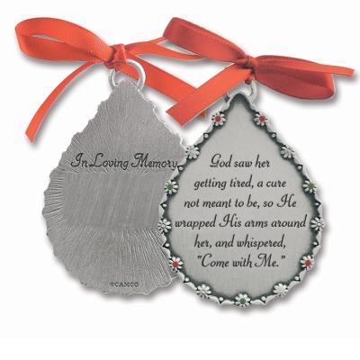 god saw her ornament