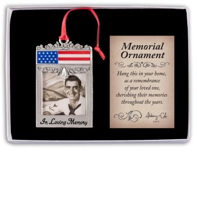 patriotic memoral ornament