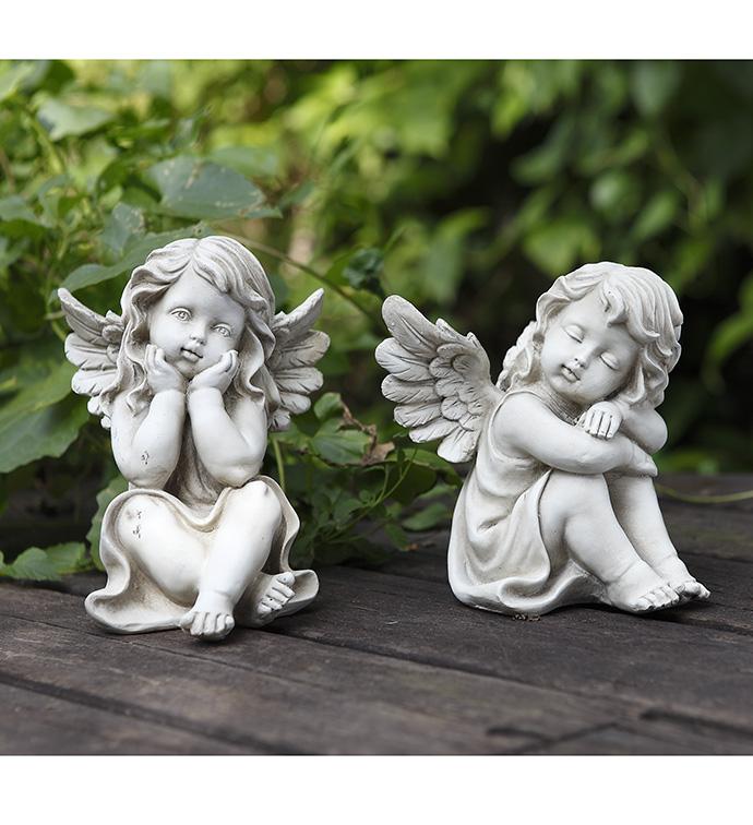 sitting cherubs