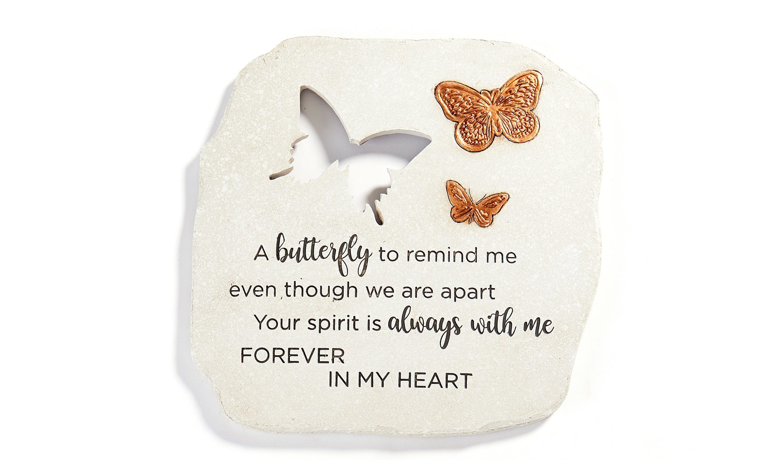 Butterfly W Gold Stepping Stone (2)